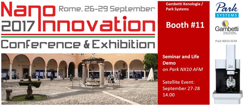 NanoInnovation Rome 2017