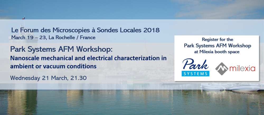 AFM Workshop and Live Demo Sondes Locales 2018
